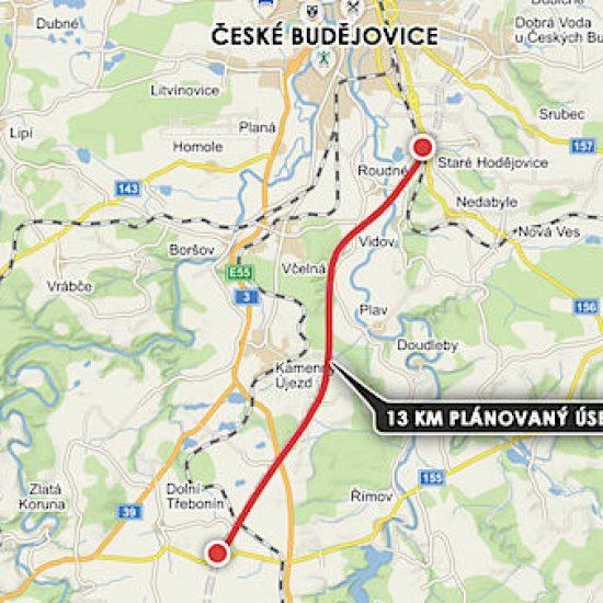 Motorway D3 lot 2 – Hodějovice – Třebonín